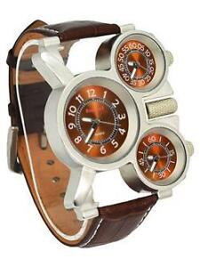 Montres style MODERNE - Triple Time