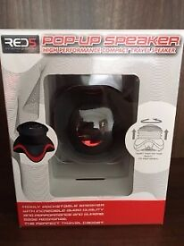 Pop -Up Speaker, High Performance Compact Travel Speaker