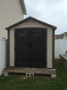 8 X 9 Vinyl shed