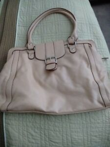 Blush large tote purse