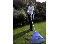 Large Professional Leaf rake and also Dutch Hoe