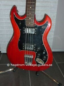 Wanted: Hagstrom HIIB N Bass pickguard or transfer Cambridge Kitchener Area image 1