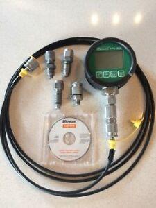Manomètre hydraulique digitale.