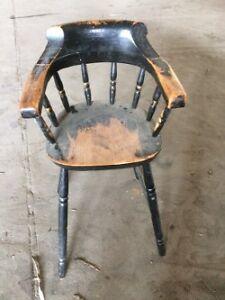 Antique Child's High Chair - Original Paint