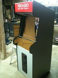 Old gutted arcade cabinet