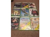 24 X Box video games never used - box still sealed with plastic - N11