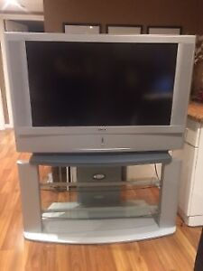 Sony lcd projection tv and stand