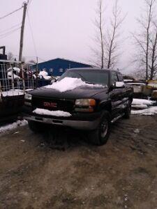 camion sierra 2500 moteur duramax 2002