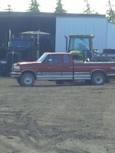 1997 Ford F-350 4x4 SuperCab Long Box Truck