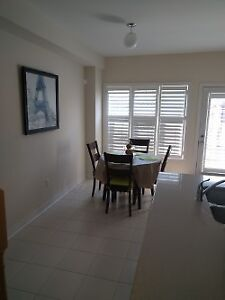 Brand new furnished Markham townhouse for rent