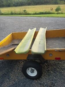 Running board and tailgate