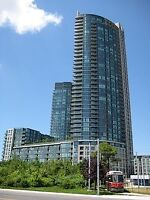 Luxury Fully Furnished 1 BR Downtown w/Parking + Lake View!