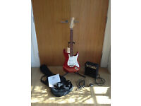ARIA Electric Guitar STG Series with AMP