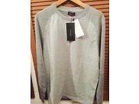Zara Man Sweater Jumper Grey Size L - Brand New With Tags RRP £29.00!
