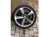Genuine AC Alloy Wheels Fitted with Pirelli Tyres - Audi/VW/Seat/Skoda