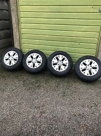 """Genuine 16"""" VW T5/T6 Alloys with Hankook tyes"""