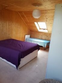 Lovely large self contained room with en suite bathroom in shared house for professionals