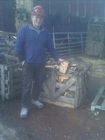 hardwood log's