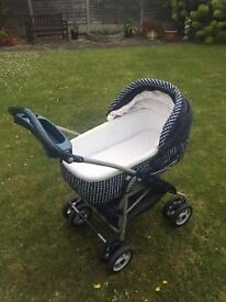 Mama & Papa Pram. Excellent condition. Pram, car seat, push chair, canopy and cozy toes. £50 ono