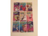 Nickelodeon Spongebob card collection