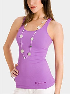 BNWT MARCIANO by GUESS purple tank top size small