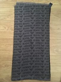 Armani Jeans scarf excellent quality