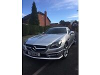 Mercedes SLK 200 1.8 Convertible AMG Sport V.low mileage, Red Leather Seats, £2k optional extras