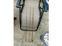 """Hardy Palakona """"The Deluxe"""" 3 piece, 9 ft trout fly rod"""