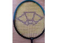 Carlton 'game' Badminton racket