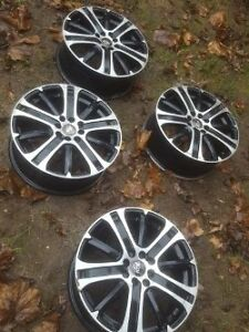 "4 16"" RTX Racing Rims Multifit 4x100 and 4 114.3 Bolt pattern"
