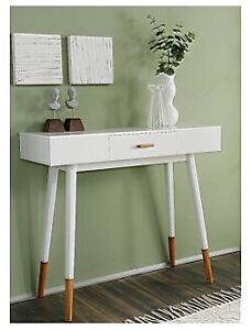 SOFA/ CONSOLE TABLE- White