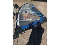 4.7m windsurfing rig