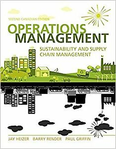 Operations Management 2nd Canadian Edition