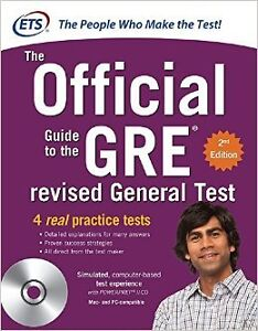 GRE THE OFFICIAL GUIDE TO THE REVISED GENERAL TEST WITH CD-ROM