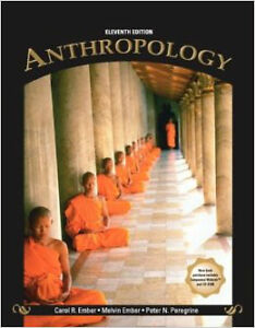 Anthropology (11th edition) by Carol Ember