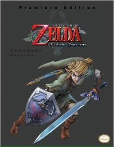 Zelda: Twilight Princess Official Game Guide Book - GameCube