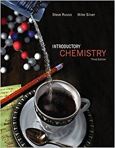 """Brand new """"Introductory Chemistry"""" by Steve Russo, 3th edition,"""