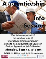 Apprenticeship - Learn how with our Info Session!
