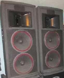 CERWIN VEGA V-253 SPEAKERS $550.00