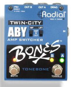 Radial Bones Twin City Amp Switcher