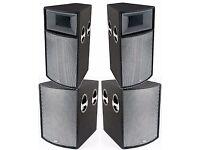 peavey ul 18 inch bass bins black widow speakers