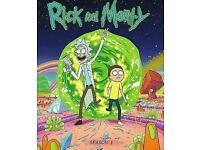 Rick and Morty season 1 Blu-ray UK copy