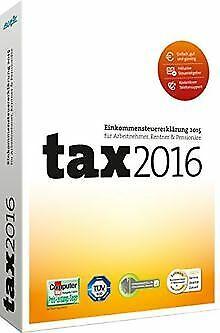 tax 2016 (für Steuerjahr 2015) von Buhl Data Service | Software | Zustand gut