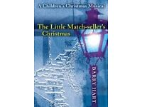 AS NEW - THE LITTLE MATCH-SELLER'S CHRISTMAS sheet music book - WITH FREE CD!