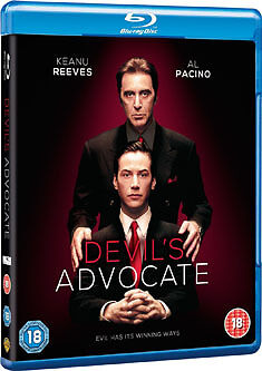 THE DEVILS ADVOCATE - BLU-RAY - REGION B UK