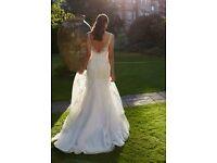 Wedding Dress Brand New size 12 Romantica Designer Chanel Sparking Crystals RRP £990.00