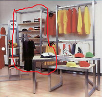 Industrial Retail Stainless Steel Shelving System