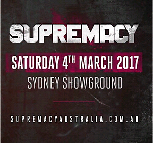 Supremacy ticket Hope Valley Tea Tree Gully Area Preview
