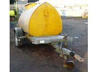 Diesel Bowser Trailer - 1,110 Litre Bunded Tank