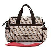 Cream Baby Changing Bag
